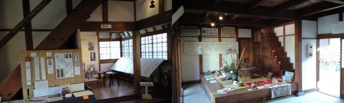 一茶双樹記念館(展示館内部)