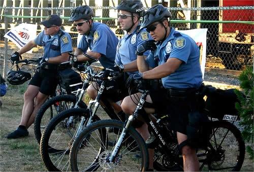 サンフランシスコ市警「バイシクルユニット」