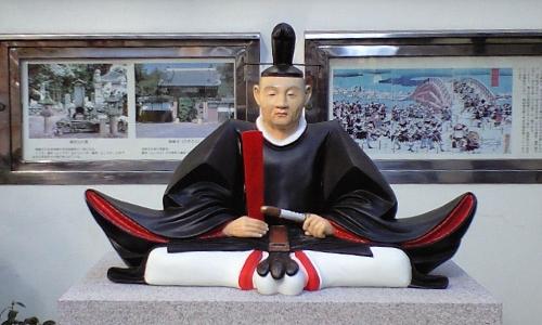 吉良上野介像