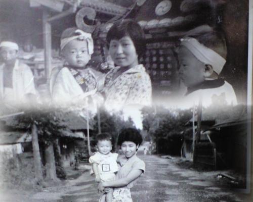 加村台の祭り、昭和34年
