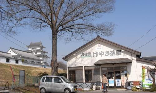 けやき茶屋と関宿城